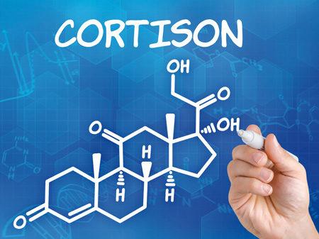 Chemische Formel für Cortison