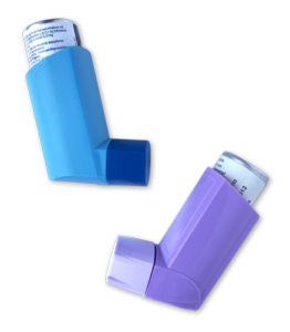 Zwei verschiedene Inhalatoren